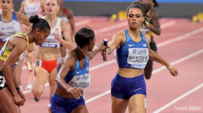 U.S. 4x4 Domination, 100m Hurdles Gold & Silver Highlight Final Day In Doha