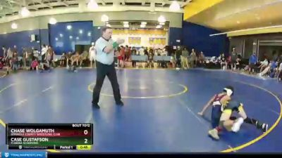 70 lbs Round 1 - Case Gustafson, Florida Scorpions vs Chase Wolgamuth, Seminole County Wrestling Club