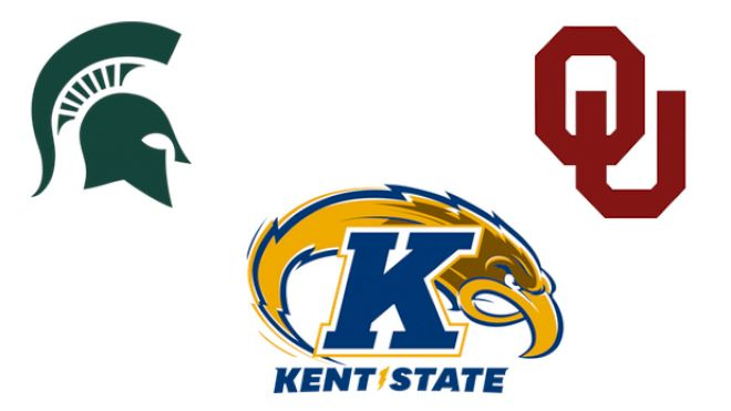 2019 Oklahoma and Michigan State vs Kent State | NCAA Wrestling