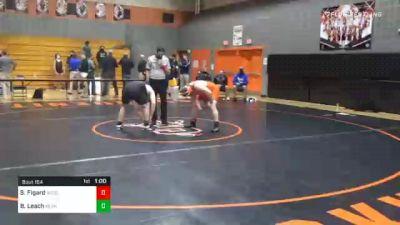 215 lbs 3rd Place - Slade Figard, Susquenita vs Bronson Leach, Kennard-Dale