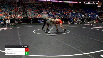 184 lbs 3rd Place - Dakota Geer, Oklahoma State vs Will Sumner, Utah Valley