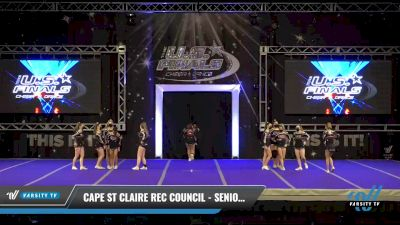 Cape St Claire Rec Council - Senior Pride [2021 L3 Performance Recreation - 18 and Younger (NON) - Small Day 1] 2021 The U.S. Finals: Ocean City