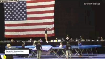 Samantha Breckenridge - Individual Trampoline, Kris Power Tumbling - 2021 USA Gymnastics Championships