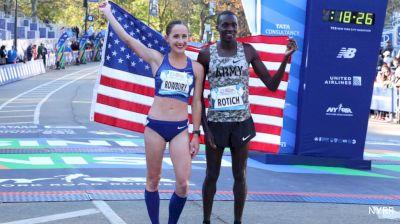 Anthony Rotich & Shannon Rowbury Win 2019 USATF 5K Championships