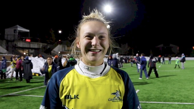 McKenzie Hawkins After Big Semi-Final Win