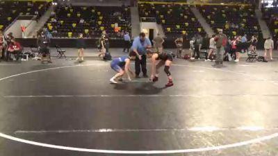 132 lbs Prelims - Reagen Gallaway, Nebraska vs Alicia Pieper, Michigan Revolution