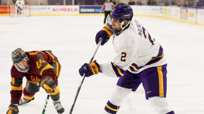 Rauhauser, Mackey & The 6 Princes Atop The WCHA Blue Line