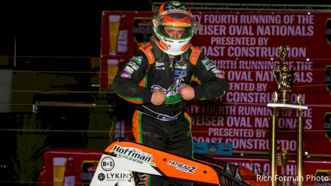 Brady Bacon Gets Best Of Perris On Night #1 Of Oval Nats