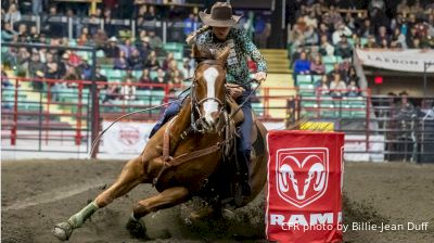 2019 Canadian Finals Rodeo | Round Two | BARREL RACING