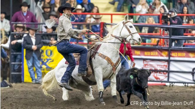 Event Replays: Watch The Tie-Down Roping At CFR46 Again