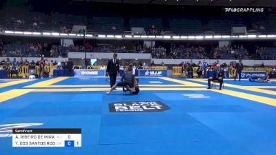 ATHOS RIBEIRO DE MIRANDA vs YGOR DOS SANTOS RODRIGUES 2019 World IBJJF Jiu-Jitsu No-Gi Championship