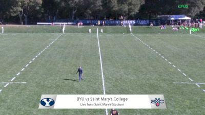 Full Match Replay: BYU vs St Mary's