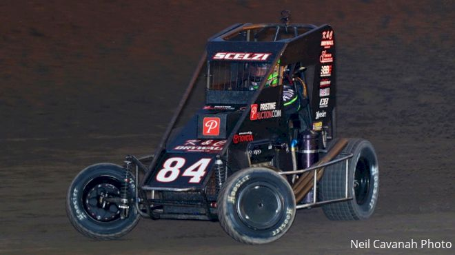 Placerville Hosts First 100-Lap USAC Midget Race In 7 Years