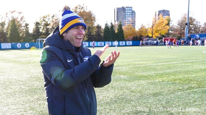 At Hofstra, Riddiough Is Right At Home