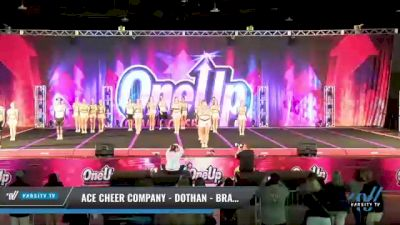 ACE Cheer Company - Dothan - Bravehawks [2021 L6 International Open Coed - Small Day 1] 2021 One Up National Championship