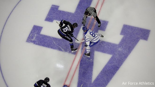 Air Force Offense Takes Flight As Falcons Climb Atlantic Hockey Standings
