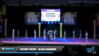 Victory Vipers - Black Diamonds [2021 L6 Senior Coed Open Day 1] 2021 ACDA: Reach The Beach Nationals
