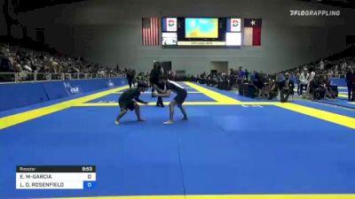 ESTEVAN G MARTINEZ-GARCIA vs LEE D. ROSENFIELD 2021 World IBJJF Jiu-Jitsu No-Gi Championship