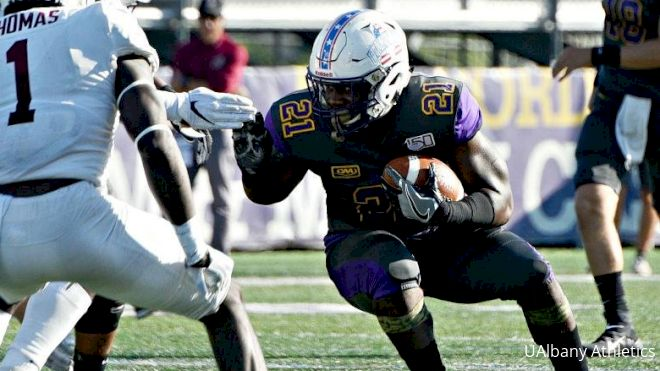 Perfect Attendance: UAlbany's Karl Mofor Always Shows Up