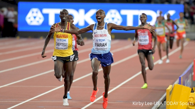 Mo Farah Will Compete In The 10,000m In Tokyo