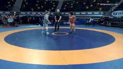 72 kg Prelims - Alexandria Glaude, Titan Mercury Wrestling Club (TMWC) vs Skylar Grote, New York Athletic Club