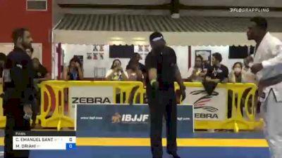 CARLOS EMANUEL SANTOS vs MORGAN ORIAHI 2020 Houston International Open IBJJF Jiu-Jitsu Championship