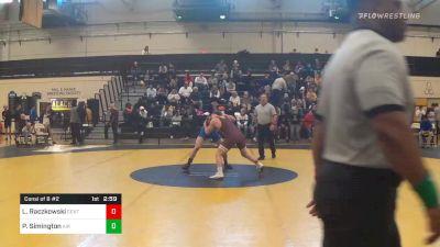 Consolation - Luke Raczkowski, Central Michigan vs Parker Simington, Air Force