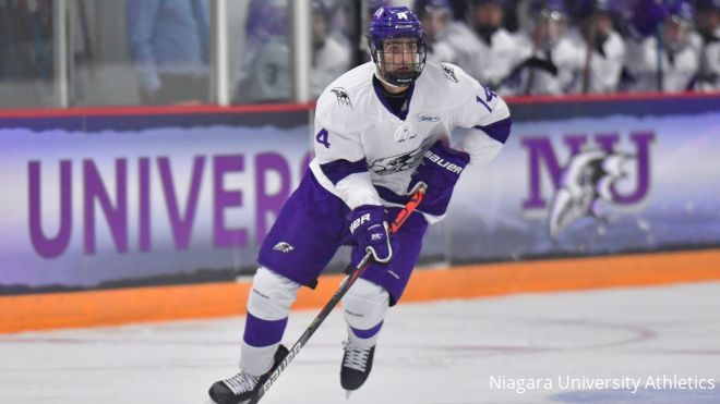 Niagara Freshman Ryan Naumovski Sparks The Purple Eagles