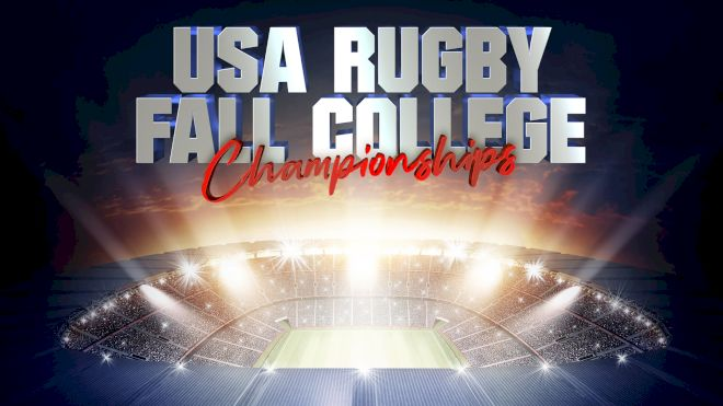 Schedule: USAR Fall College Championships