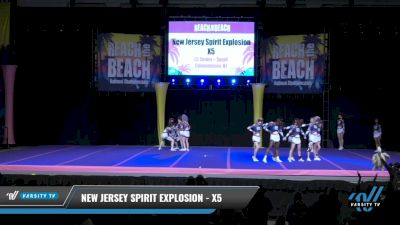 New Jersey Spirit Explosion - X5 [2021 L5 Senior - Small Day 2] 2021 ACDA: Reach The Beach Nationals