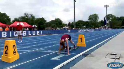 High School Girls' 200m Class A, Finals 2