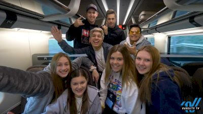 Varsity Rome Day 5: Train Ride To Florence