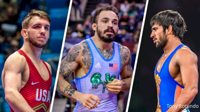 65kg Matteo Pellicone UWW Ranking Series Preview