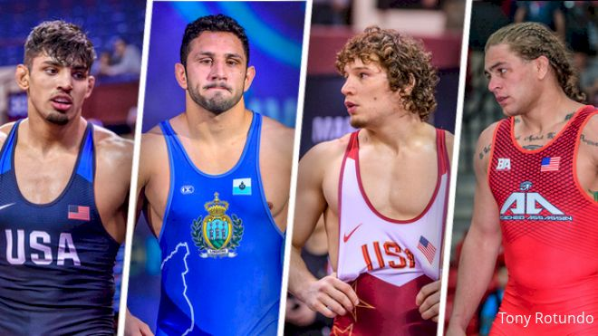 86kg Matteo Pellicone UWW Ranking Series Preview