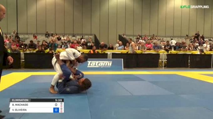 VITOR OLIVEIRA vs BRUNO MACHADO 2018 World Master IBJJF Jiu