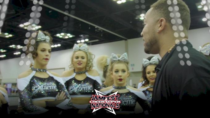 Practice Room Peek: Cheer Extreme Passion
