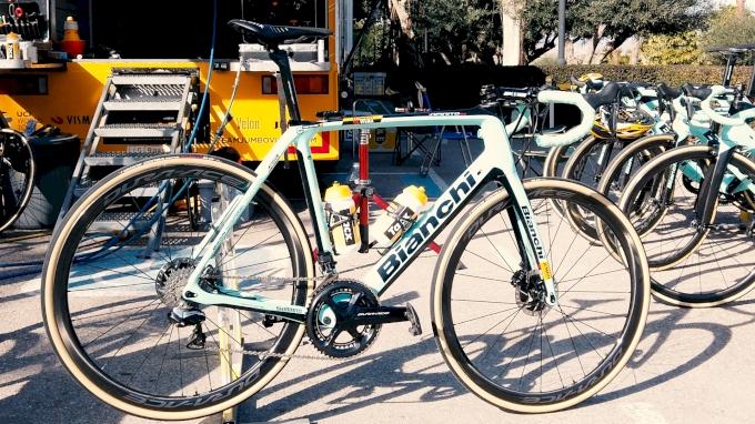 Van Aert's Paris-Roubaix Bianchi