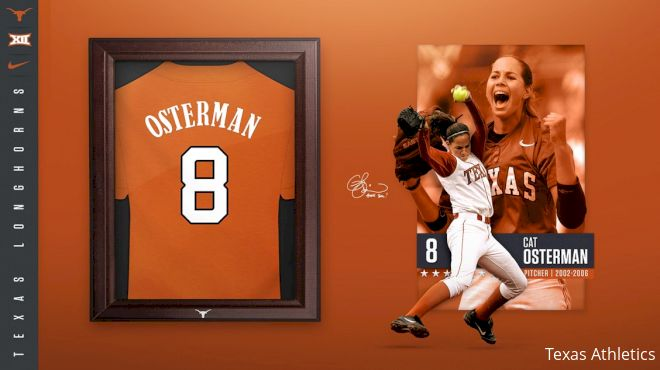 Texas Softball To Retire Cat Osterman's Jersey Number