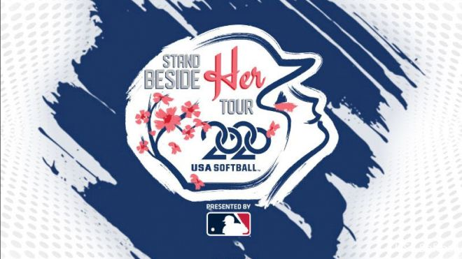 """MLB Announced As Presenting Sponsor Of USA Softball """"Stand Beside Her Tour"""""""
