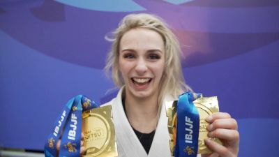 Ffion Davies Makes History As Lightest IBJJF European Champion