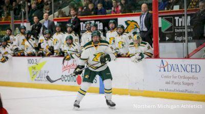 Highlights: Northern Michigan vs Alaska, Jan. 25