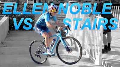 How To Ride Up Stairs Like Cyclocross Star Ellen Noble