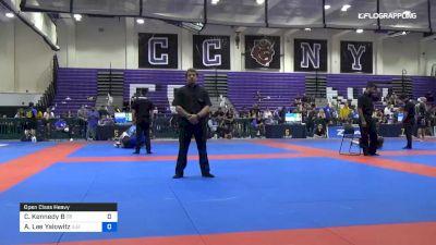 Carlos Kennedy B vs Austin Lee Yalowitz 2019 Pan IBJJF Jiu-Jitsu No-Gi Championship