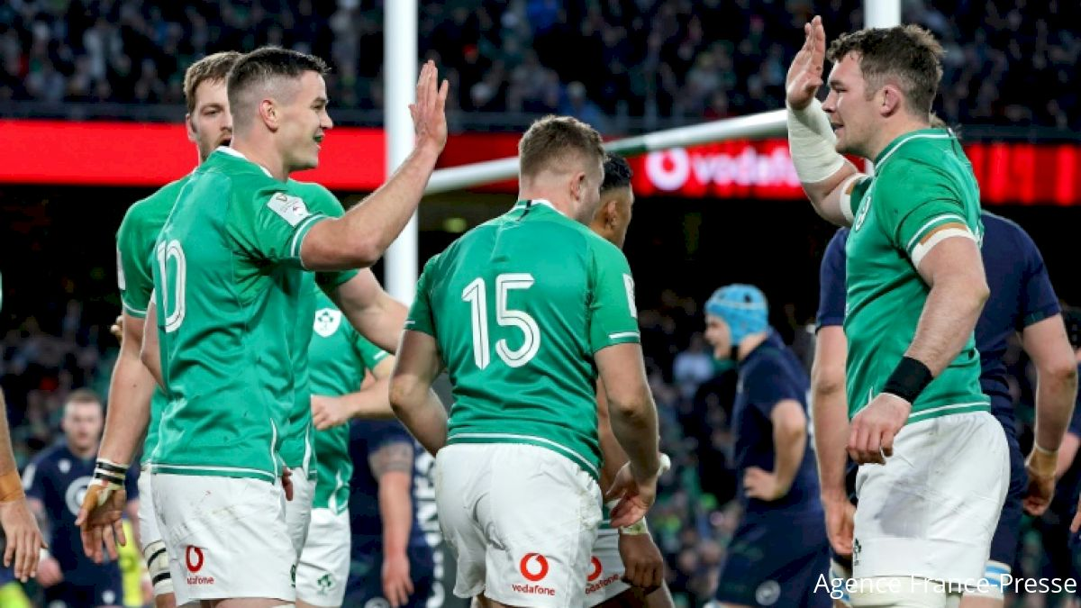 Ireland Eager To Knock Off Grand Slam Champions Wales