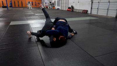 Anthony Ashnault - Roll Through Tilt, Leg, Armbar Half