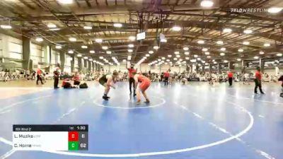 285 lbs Prelims - Leo Muzika, Lion's Den Wrestling Club HS vs Chase Horne, Minion Legends