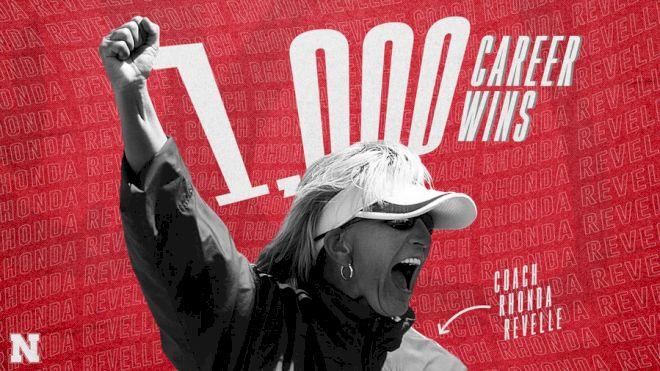 Nebraska Coach Rhonda Revelle Reaches 1,000 Career Wins