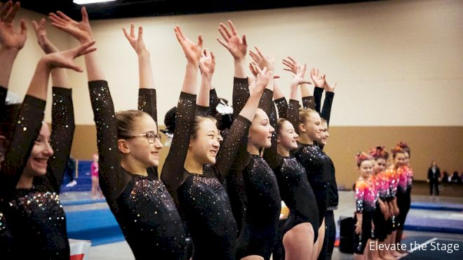 Elevate The Stage & WCGA Promote Gymnastics Growth