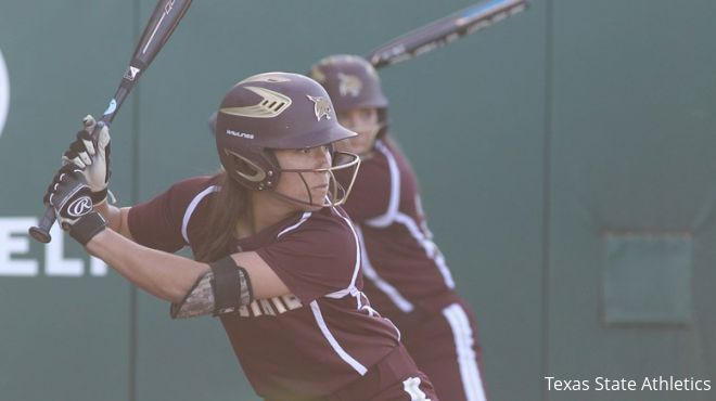 Texas State Softball Splits At The Baylor Invitational