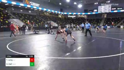 117 lbs Final - Taylin Long, Illinois vs Hannah Hall, Palm Harbor University High School Wrestling